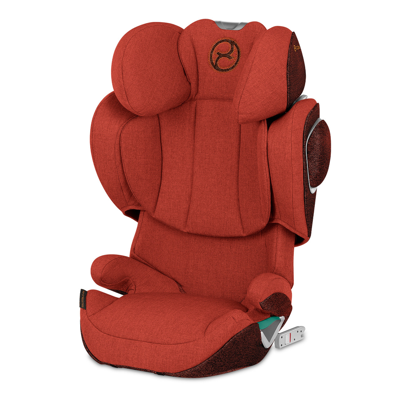 Автокресло Cybex Solution Z i-Fix Plus Autumn Gold burnt red