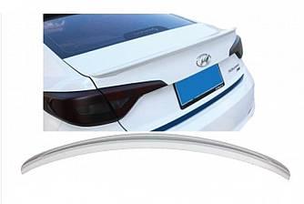 LIP спойлер Hyundai Sonata LF 2015 -