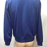 Мужская кофта на молнии / Турция / синий, фото 10