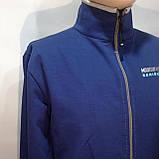 Мужская кофта на молнии / Турция / синий, фото 3