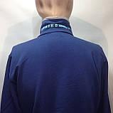 Мужская кофта на молнии / Турция / синий, фото 9