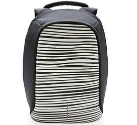 "Рюкзак для ноутбука XD Design Bobby Compact 14"" проти крадіжок Зебра (P705.651)"