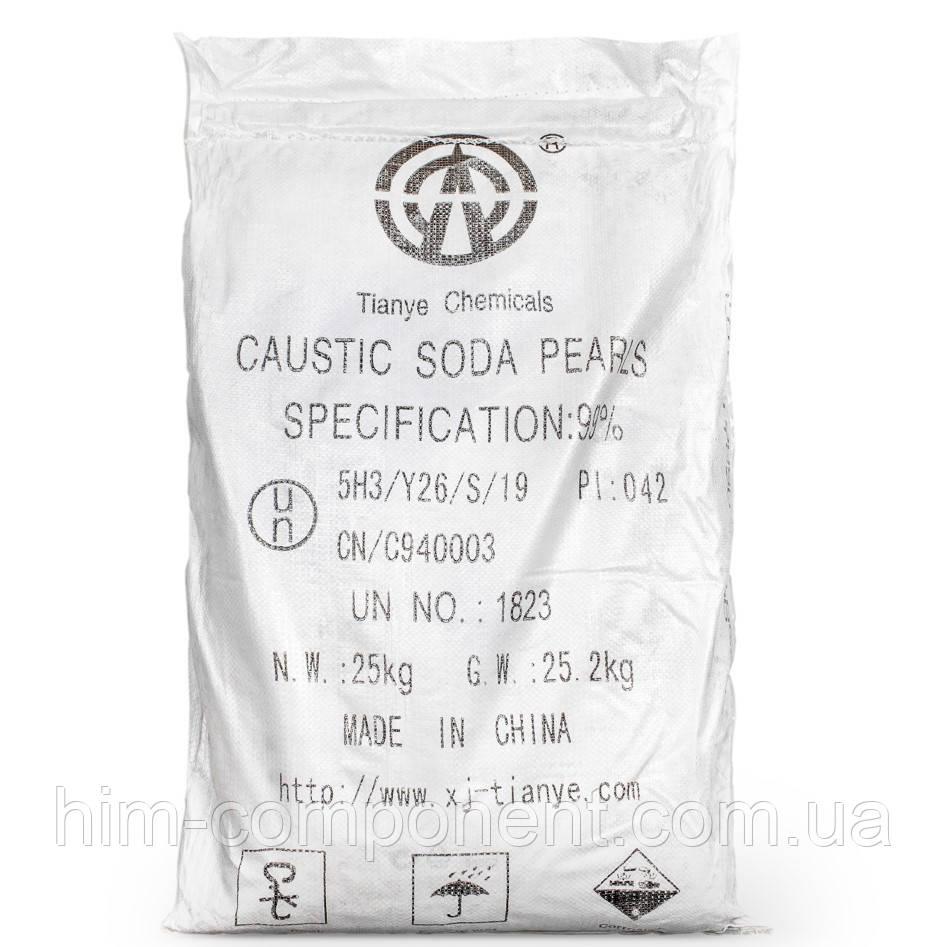 Сода каустическая гранула 25 кг(Китай)