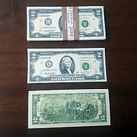 Сувенирные деньги 2$ (арт. USD-2)