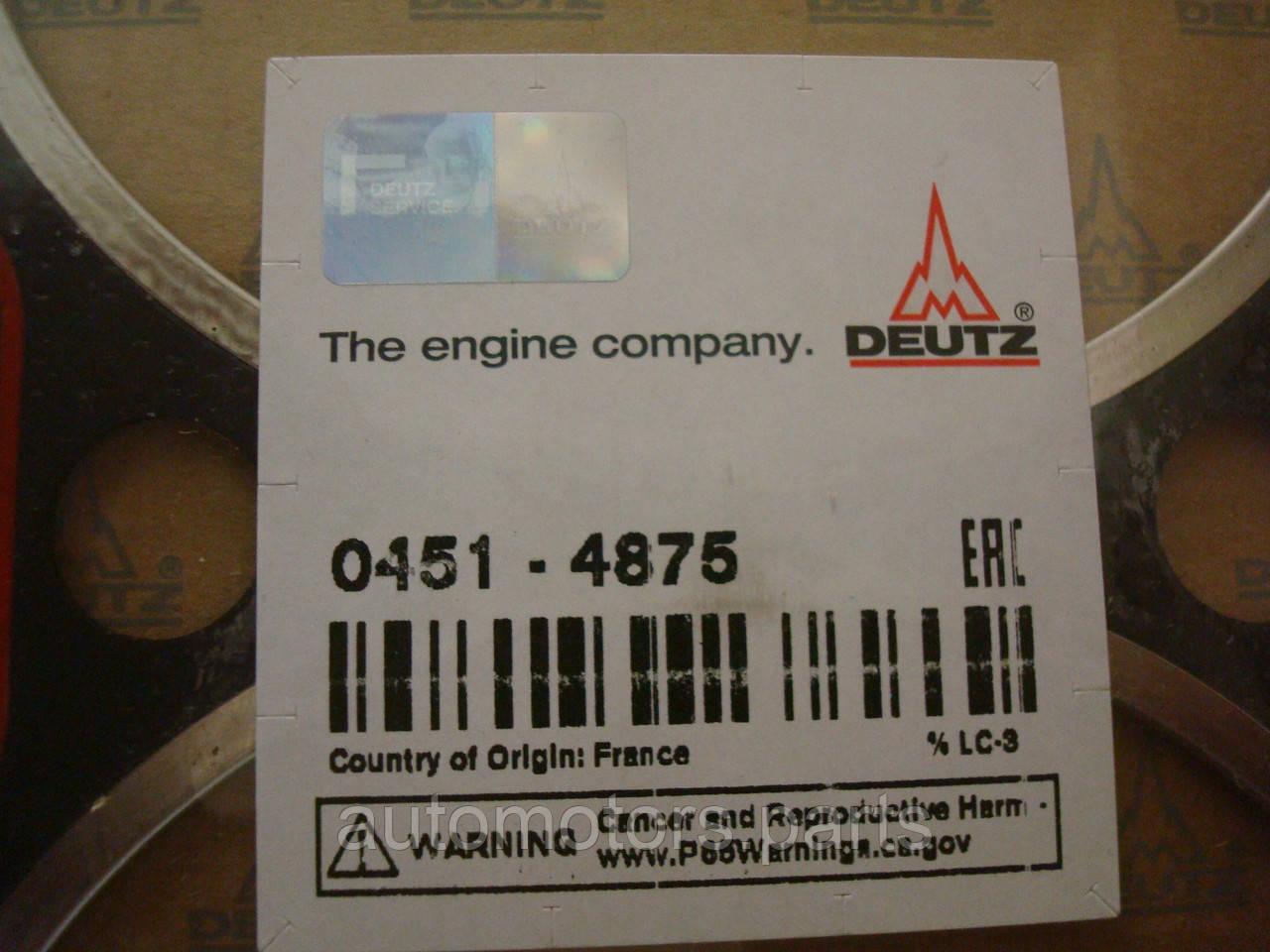 Прокладка головки блока цилиндра Deutz 04514875