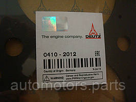 Прокладка головки блока цилиндра Deutz 04102012