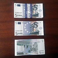 Сувенирные деньги (арт. EUR-5)