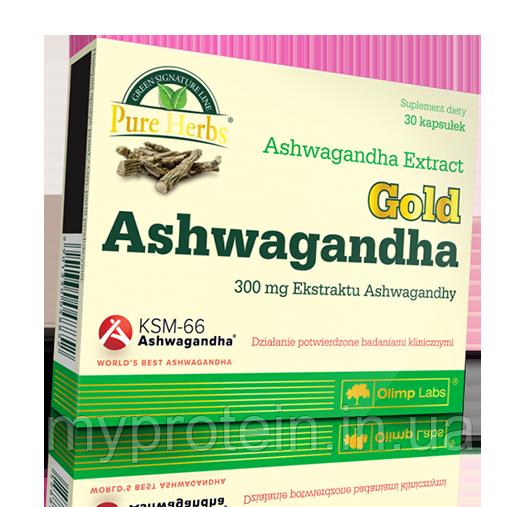 OLIMPЭкстракт ашвагандыGold Ashwagandgha 300 mg30 caps