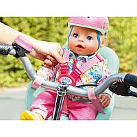 Велокресло и шлем для куклы Бэби борн комплект Baby Born Zapf Creation, фото 1