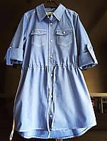 {есть:146} Платье-рубашка для девочек,  Артикул: DG6221 [146], фото 1