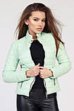 Короткая куртка демисезонная размер 44  X-Woyz LS-8820, фото 7