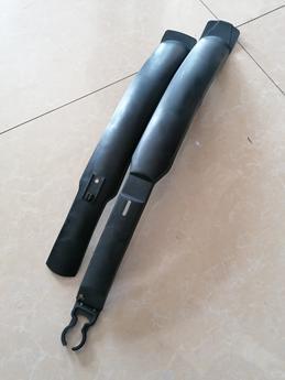 Комплект крыльев 24-29 колеса Черные длинные