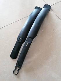 Комплект крил 24-29 колеса Чорні довгі
