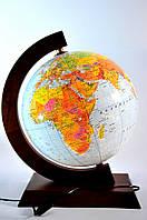 Глобус настольный с подсветкой 320 мм политико-физический (рус.) BST 540138