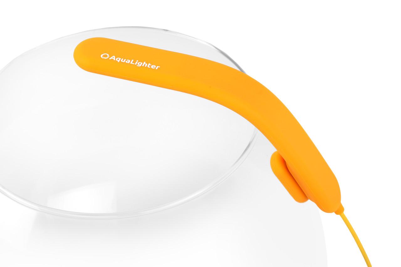 AquaLighter PicoSoft— LED светильник с гибким корпусом для аквариумов до 20л, желтый