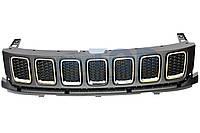 Решетка радиатора в сборі 6BA20TZZAB, Jeep Compass 17- (Джип Компас)