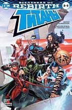 «Вселенная DC. Rebirth. Титаны #8-9 / Красный Колпак и Изгои #4»  Абнетт Д., Лобделл С.