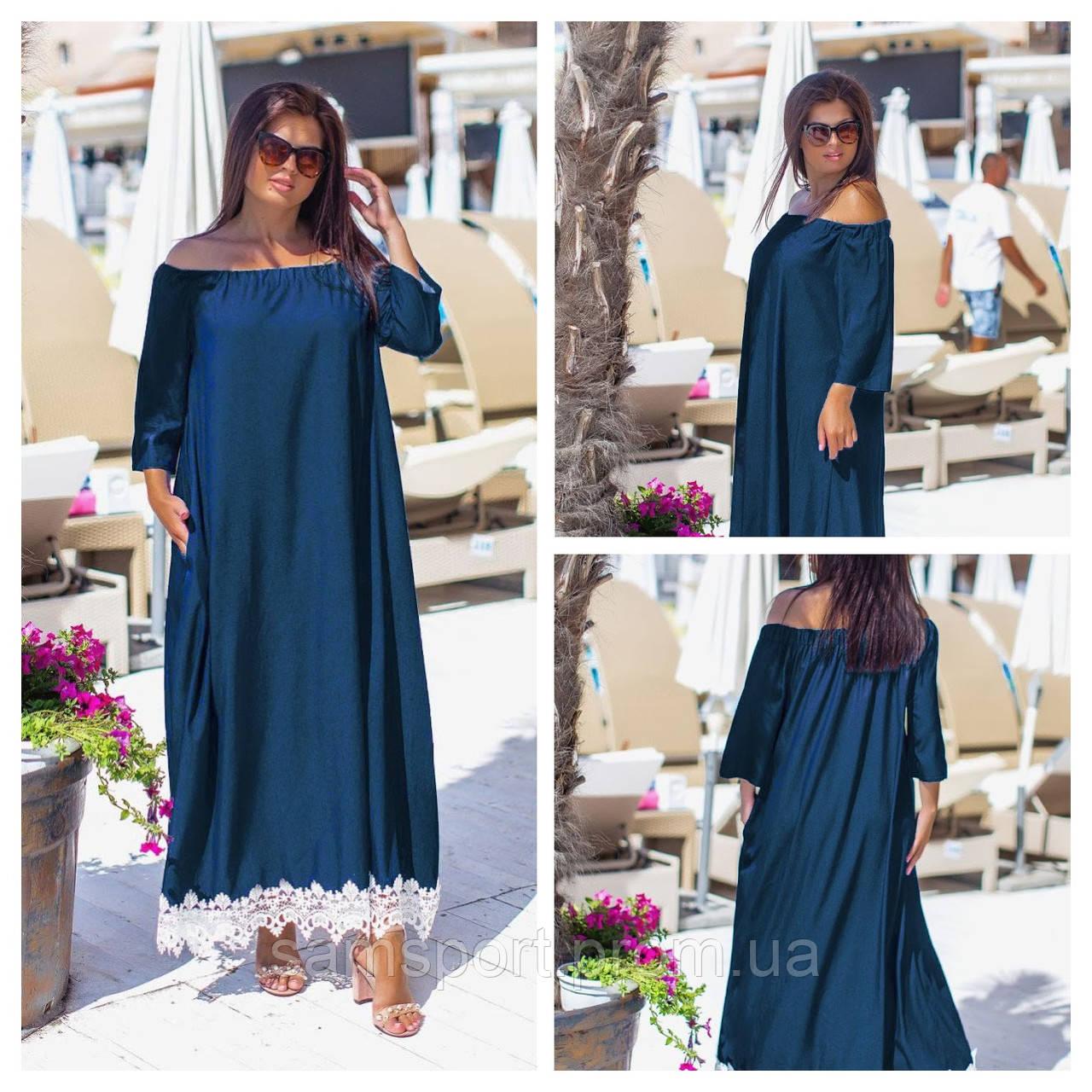 Джинсовые длинные платья оптом, женские платья больших размеров XXL оптом