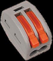 Строительно-монтажная клемма СМК 222-412 (4 шт/упак) IEK