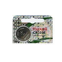 Батарейка Maxell CR2025 (1шт.), фото 1