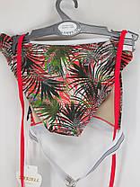 Купальник бикини треугольник Kesell 2146 красный на 42 44 46 48 50 размер, фото 3