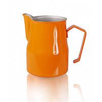 Питчер молочник Motta Europa 350 мл оранжевый стальной