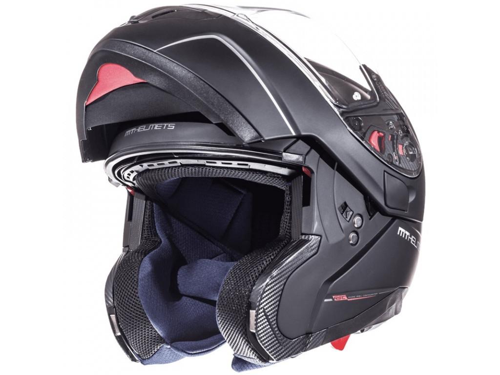Шлем MT Atom Sv (черный мат) р.S