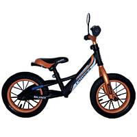 """Детский беговел Crosser Balance bike Air 16"""" оранжевый"""