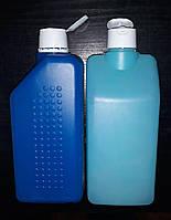 Бутылка пластиковая б/у 1 л. с дозатором