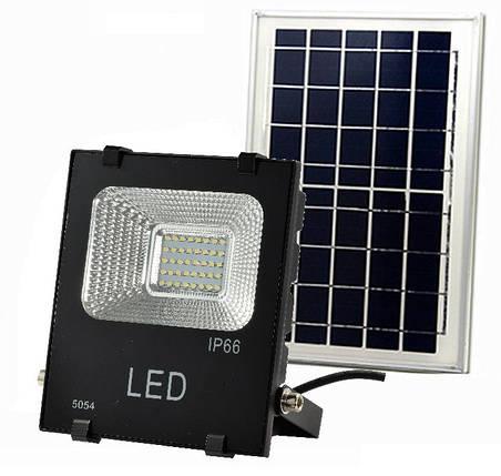 Светодиодный прожектор на солнечной батарее Sol J Premium 25 Вт, фото 2
