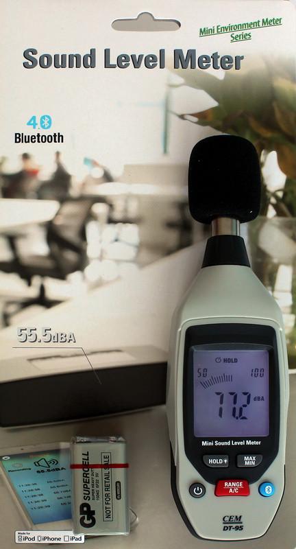 DT95 шумомер, измеритель уровня шума, от 35 до 130 дБ, Bluetooth,возможна калибровка в УкрЦСМ