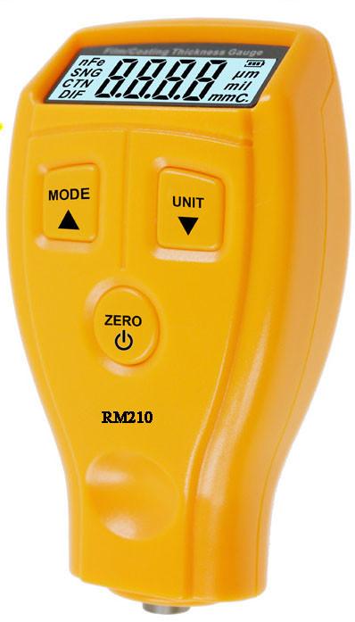 Толщиномер RM210 Fe тестер краски, от 0,01 мкм до 1,8 мм,возможна калибровка в УкрЦСМ