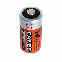 Литиевая батарея CR123A 2/3 A Size 3,0В 1500мАч, Li-MnO2, фото 1