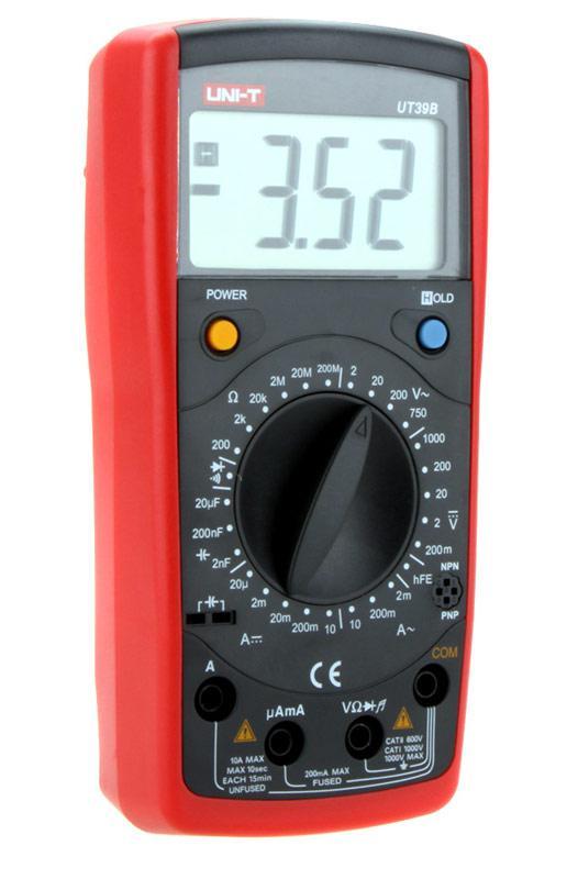 UT39B мультиметр цифровой,возможна калибровка в УкрЦСМ