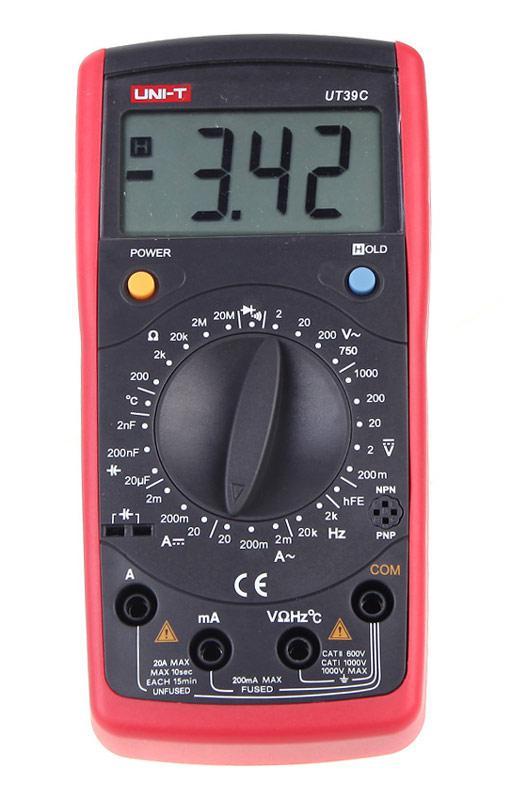 UT39C мультиметр цифровой,возможна калибровка в УкрЦСМ