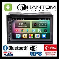Лучшая 2din GPS магнитола Автомагнитофон Phantom DVA-7713 (без привода)