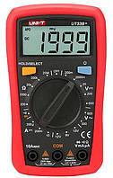 UT33C+ мультиметр цифровой,c функцией измерения температуры,возможна калибровка в УкрЦСМ, фото 1