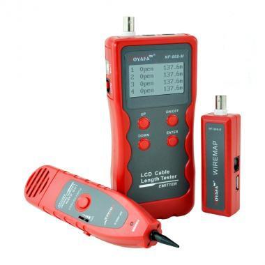 NF-868 кабельный тестер, измеритель длины кабеля,возможна калибровка в УкрЦСМ
