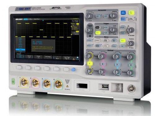 SDS2304X осциллограф, 300 МГц, 2ГВ/с, 4 канала,возможна калибровка в  УкрЦСМ