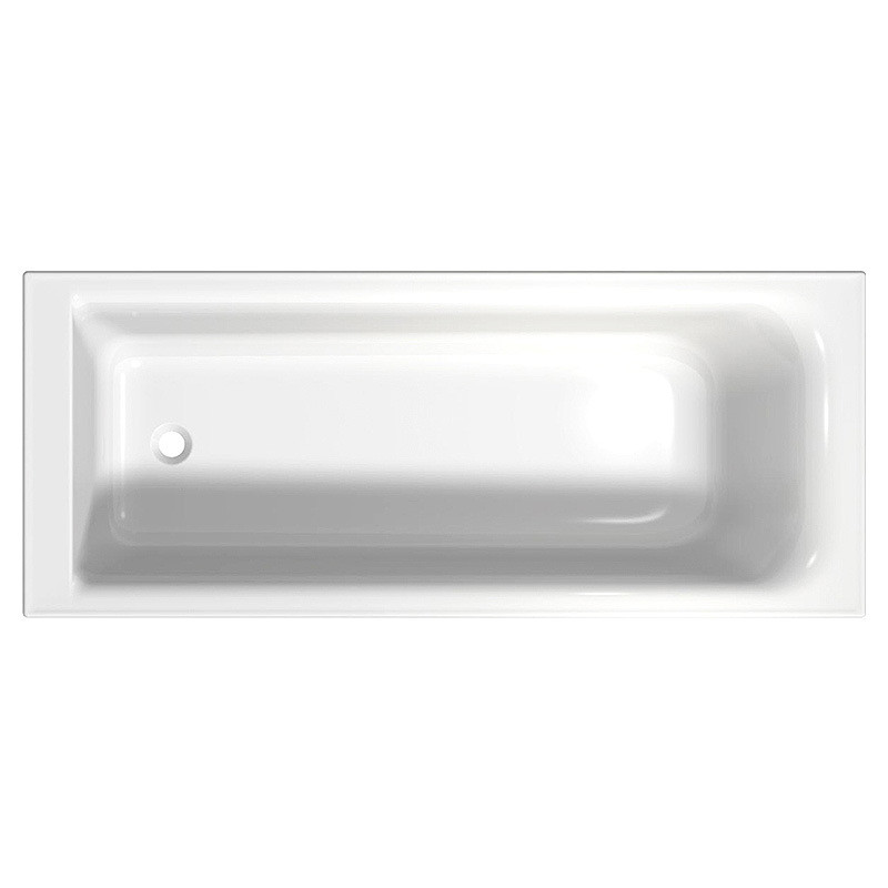 Ванна акрилова ФОРТУНА 160х70, прямокутна, б/н