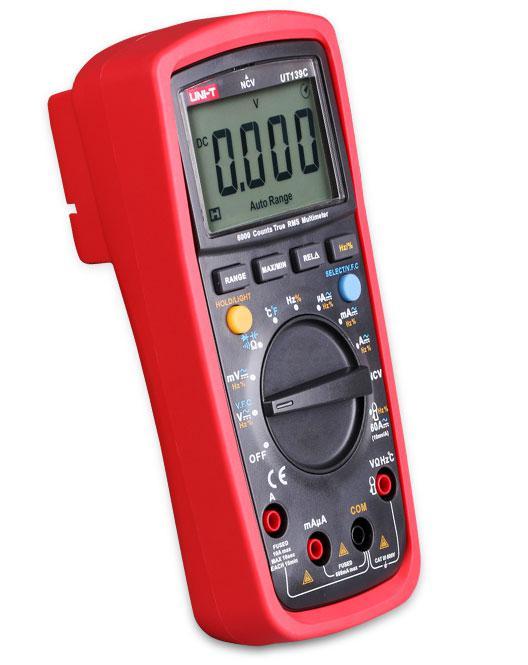 UT139C, мультиметр цифровой UNI-T,True RMS, 6000 отсчётов,возможна калибровка в УкрЦСМ