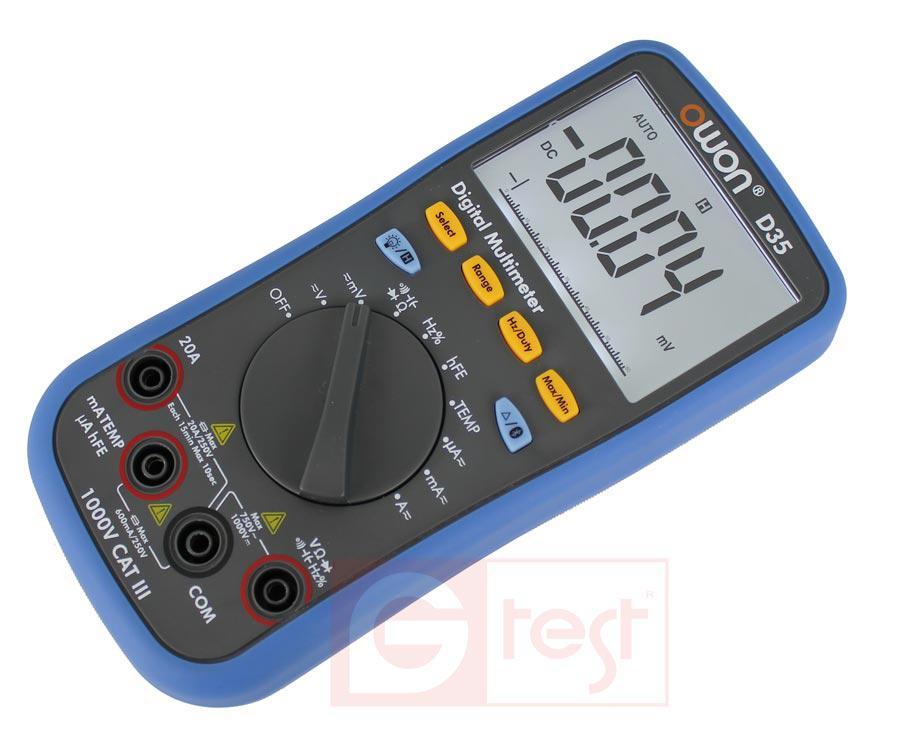 B33+ мультиметр (Bluetooth, Offline),возможна калибровка в УкрЦСМ