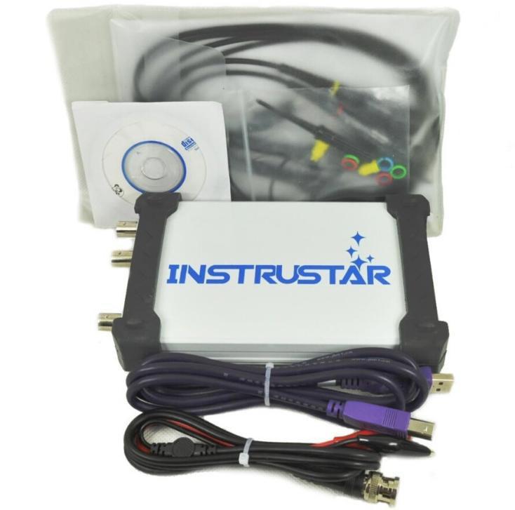 ISDS205B виртуальный осциллограф, 20 МГц, 2 канала,возможна калибровка в УкрЦСМ