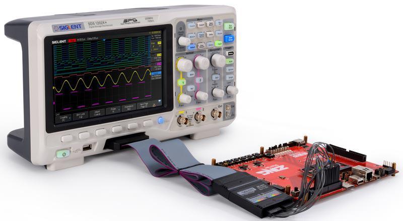 SDS1202X+, осциллограф 2х200МГц+генератор AWG,возможна калибровка в УкрЦСМ
