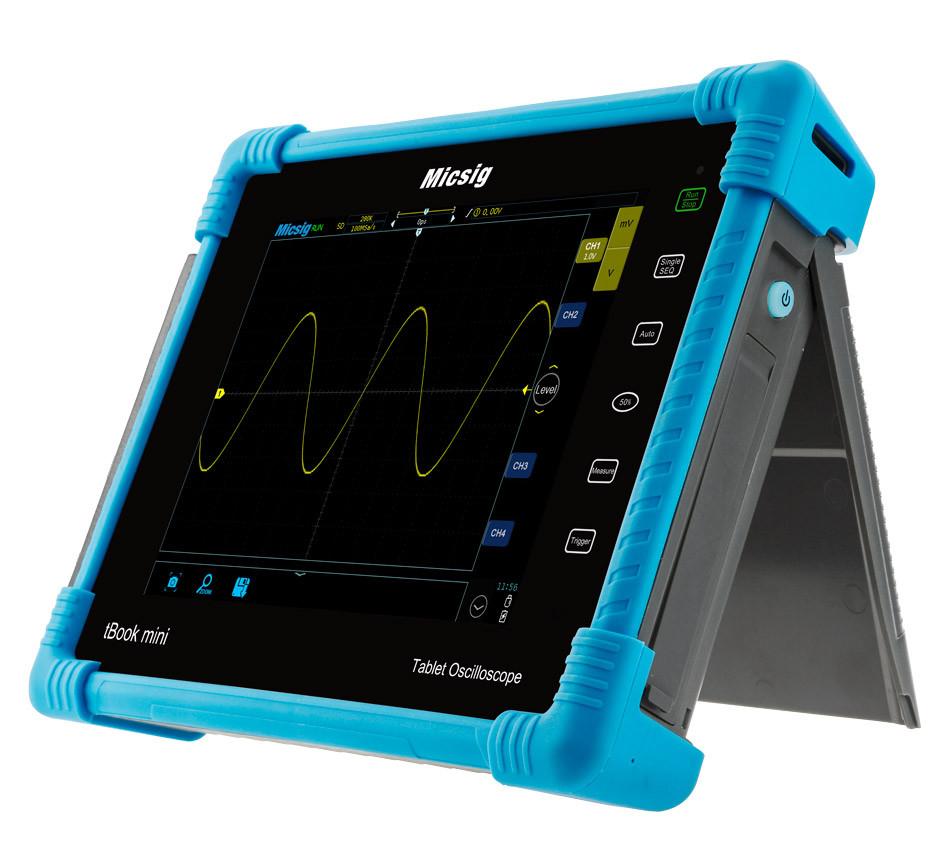 TO1104 Micsig  планшетный осциллограф,  100 МГц, 4 канала,возможна калибровка в УкрЦСМ