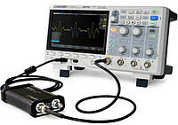 SDS1204X-E осциллограф, 200 МГц, 1ГВ/с, 4 канала,возможна калибровка в УкрЦСМ, фото 1