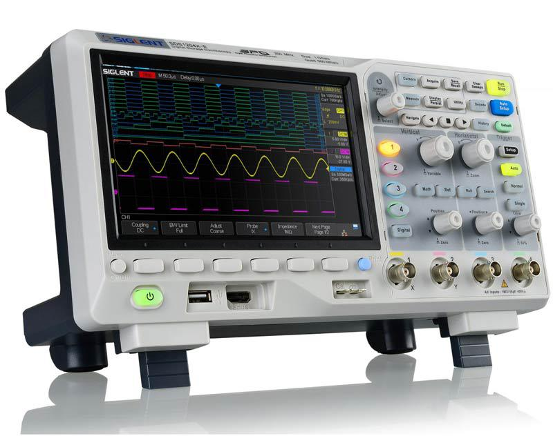 SDS1104X-E осциллограф, 100 МГц, 1 ГВ/с, 4 канала,возможна калибровка в УкрЦСМ