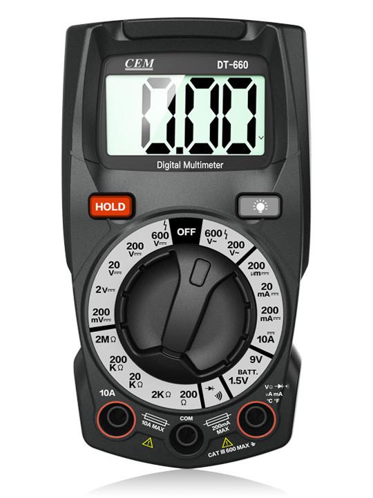 DT660 мультиметр цифровой,возможна калибровка в УкрЦСМ