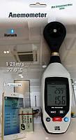 DT90 термоанемометр, C.E.M., от 0,4 до 25 м/с, от -10 до 60ºC, возможна калибровка в УкрЦСМ, фото 1
