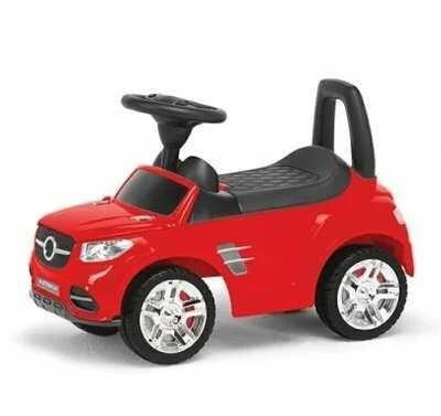 Детская каталка-толокар Colorplast 2-002-R Красный (открывается капот, сиденье, свет фар, музыкальный руль)